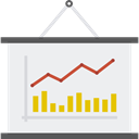 Business, graphic, chart, Business And Finance, statistics, finances, Presentation WhiteSmoke icon