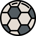 Sports And Competition, Game, Team Sport, equipment, Football, sports, soccer Gainsboro icon