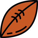 equipment, Team Sport, American football, sports, team, Sports And Competition Chocolate icon