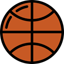 sports, Sports And Competition, Basketball, Sport Team, team, equipment Chocolate icon