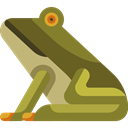 zoo, Animal, frog, Wild Life, Animal Kingdom, Animals OliveDrab icon