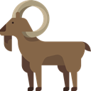 Wild Life, Animals, Animal, goat, zoo, Animal Kingdom Sienna icon