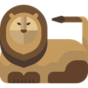 Animals, lion, Wild Life, Animal, zoo, Animal Kingdom DarkOliveGreen icon