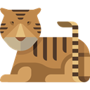 Animals, Animal, Wild Life, zoo, Animal Kingdom, Tiger Peru icon