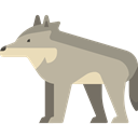zoo, Animal Kingdom, Wild Life, Animal, Animals, wolf DarkGray icon