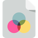 Print, Cmyk, scheme, miscellaneous LightGray icon