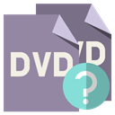 File, Dvd, help, Format LightSlateGray icon