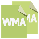 Format, File, Wma DarkKhaki icon