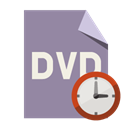 Clock, Format, File, Dvd LightSlateGray icon