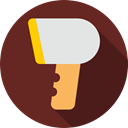 Shopping Store, Commerce And Shopping, Supermarket, technology, Barcode Scanner, shopping SaddleBrown icon