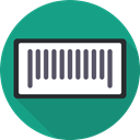 Commerce And Shopping, Products, Price, horizontal, Barcode DarkCyan icon