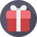 surprise, present, miscellaneous, gift, birthday, Christmas Presents DimGray icon