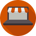 Commerce And Shopping, Multimedia, shopping cart, Business, online shopping, website, web page, online shop, Broswer Chocolate icon