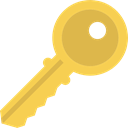Tools And Utensils, Passkey, password, miscellaneous, pass, Door Key, Key, Access SandyBrown icon