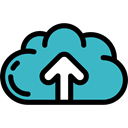 Data, Multimedia, Multimedia Option, upload, interface, ui, storage, Cloud computing MediumTurquoise icon