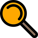 miscellaneous, Loupe, Tools And Utensils, search, zoom, magnifying glass, detective Black icon