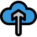 ui, Cloud computing, Orientation, Direction, Arrows, uploading, upload, Multimedia, up arrow Black icon