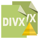 File, pyramid, Divx, Format DarkKhaki icon