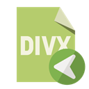Divx, File, Format, Left DarkKhaki icon