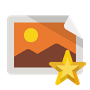image, star Chocolate icon