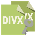 Divx, Key, File, Format DarkKhaki icon