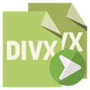 Divx, Format, right, File DarkKhaki icon