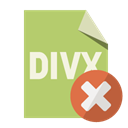 Format, File, Close, Divx DarkKhaki icon