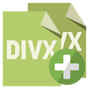 File, Divx, Format, Add DarkKhaki icon
