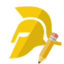 pencil, trojan Black icon