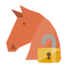 trojan, open, Lock Peru icon
