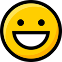 emoticons, feelings, faces, Smileys, Ideogram, interface, Emoji, happy Icon