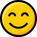 Ideogram, Emoji, feelings, happiness, interface, faces, Smileys, emoticons Gold icon