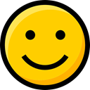 Emoji, emoticons, faces, Smileys, feelings, Ideogram, interface, happiness Gold icon