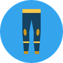Summertime, Dive, sea, sports, miscellaneous, Diving, equipment, Wetsuit DodgerBlue icon