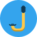 miscellaneous, Snorkel, Diving, Tools And Utensils, equipment DodgerBlue icon