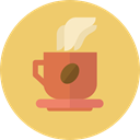 Chocolate, Tea Cup, coffee cup, food, Coffee, mug, hot drink, Food And Restaurant BurlyWood icon
