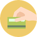 banking, Credit card, Business And Finance, online store, payment method, Business, Bank, Money Card BurlyWood icon