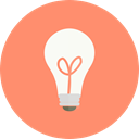 miscellaneous, invention, Light bulb, Idea, electricity, illumination, technology Salmon icon