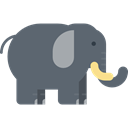 Animal Kingdom, Animals, elephant, zoo, Wild Life, mammal DimGray icon