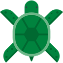 Animal Kingdom, turtle, Animal, Animals, Wild Life, zoo ForestGreen icon