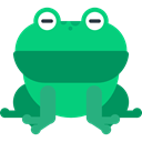Animal Kingdom, Wild Life, zoo, Animals, Animal, frog Teal icon