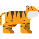 zoo, Animals, Tiger, Wild Life, Animal Kingdom, Animal Orange icon