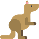 kangaroo, Animals, Animal Kingdom, zoo, Animal, Wild Life Icon