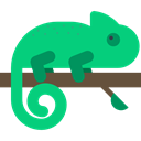 zoo, Animal Kingdom, Chameleon, Animal, Wild Life, Animals SpringGreen icon