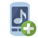 Add, ringtone LightSteelBlue icon
