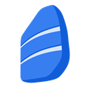 rosetta, Stone RoyalBlue icon