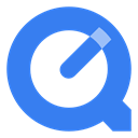 quicktime RoyalBlue icon