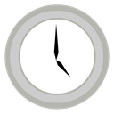 Clock LightGray icon