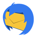 Thunderbird RoyalBlue icon