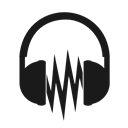 Audacity Black icon